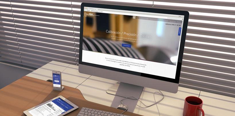 Nueva web de ALPE Metrología Industrial